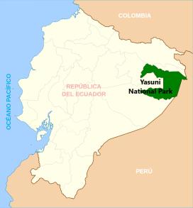 Map Yasuni